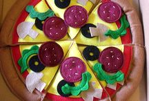 felt foods - pizza