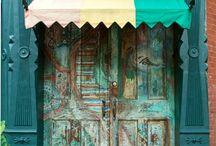 Doors / by Kimberly Thompson-Oakes