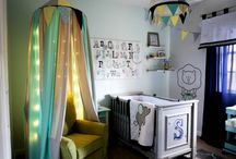 Circus theme nursery / by Lea Ann Bratcher