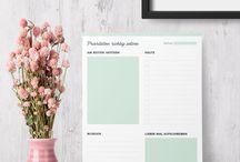 Schreibwaren / Kalender / Journals
