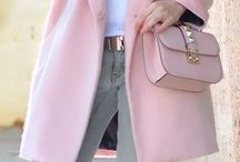 Baby pink outfits