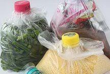 Almacenamiento de bolsa de plástico