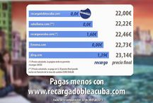 Promociones Recarga DOBLE a Cuba / Recargas a Cuba: recarga Cubacel online. Tu recarga de móviles en Cuba, ¡al mejor precio garantizado! https://www.recargadobleacuba.com