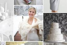 Winter Wonderland/Snowflake themed Wedding Inspiration / Think ice blues, silver, icicles and snowflakes