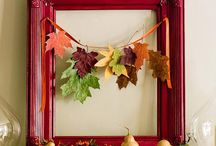 Decorating with Autumn Leaves / Autumn-Inspired Decor Featuring Mother Nature's Fall Palette