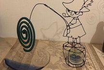 針金 アート