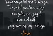Jokowi, my President