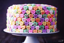 pastel cakes