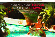 Specials / YOU AND YOUR BELOVED AT A LUXURY GETAWAY Call us to reserve 1 888 320 7590 / by Velas Vallarta