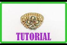 Šperky z korálků - prsteny