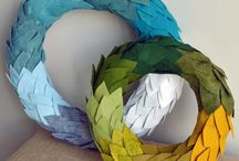craft: wreaths / door decor / Wreaths, door hangers, etc. / by Kat Alford