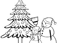 Christmas tree and gifts coloring pages / This page has free christmas trees and gifts coloring pages for kids,parents and teachers.