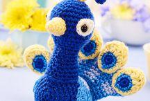 Knitted toys / gebreide speeltjes