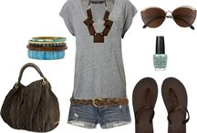 Summer outfits I have / by Donna Taft