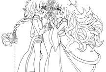 Anime Art / From Yum Puff and Dav