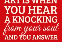 Art Quotes / by Annetta Gregory Art