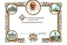 Papież Franciszek  / http://allegro.pl/blogoslawienstwo-papieskie-apostolskie-papieza-i3235660625.html