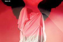 Fabric hanging