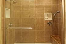 Bathroom shower ideas / by Kathy Bellavia