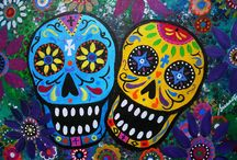 Day of the Dead / Nail inspiration