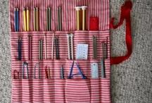 craft storage / Inspiration to organise craft supplies
