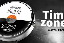 Time Zones Watch Face / This watch face is all about time zones!