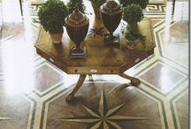 Architectural Elements-Floors Wood / Wood Floors / by Cindy Hattersley Design/Rough Luxe Lifestyle Blog