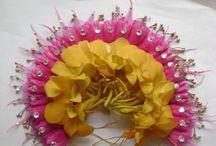 bridal flower deco