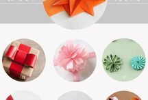 Bows, gift wrapping, etc