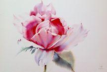 La Fe / Watercolor arts by La Fe