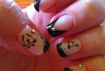 MY own nail art