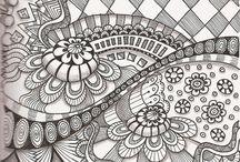 Mandalas/Tangle