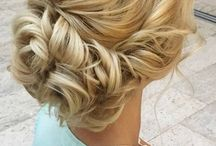 Updo hairdos