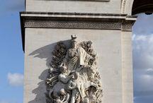 L'arc de triomphe de l'etoile de paris