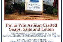 Winnipesaukee Soap Company Pin To Win / #winnipesaukeesoap #stockingstuffer #pintowin / by Barbara Ryan
