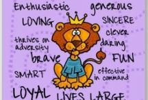 """♌ I AM LEO (THE LION) ♌ /  ♌ I AM LEO (THE LION) ♌  I am Independent, creative, warm-hearted, enthusiastic, generous, loving, sincere, clever, brave, fun, loyal, a born leader, noble, faithful, self-confident, and oh yes, BIGGER THAN LIFE! I am a seeker of knowledge and along my journey I have asked the BIG QUESTION, """"Who am I?"""" I do know that all that I need in this lifetime is already within me. And with my heavenly support team I tap into this wealth. I am Leo hear me roar!!! Purr, purr, purr……  / by Claudia Drew-Parker"""