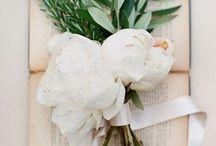 Flowers / wild bouquets-peonies, anémones, ranunculus, hellebores