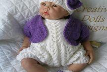 Baby dolls etc.