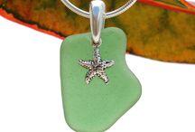 Sea Glass Necklace SALE