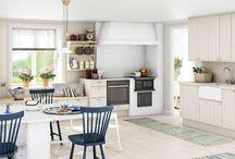Kjøkkenforslag / Prosjekt hus, kjøkken.