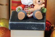 Porcelana fría - Temática: NAVIDAD / Decoraciones navideñas en porcelana fría