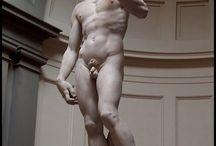 Esculturas clásicas y otras.