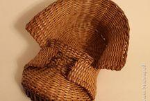 плетение / плетение из газет