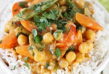 Chick Peas Recipes / Main Meals