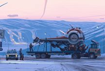 Art of Simon Stalenhag