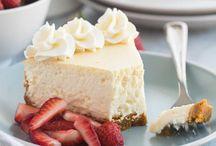Christmas desert vanilla cheese cake.