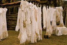 Percha / Laundry, especially the clothes line reminds me of my Grandma.