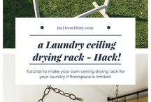 Laundry Ceiling Drying Rack