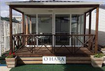 Τροχοβίλα O'Hara 31τμ με ξύλινη βεράντα / Ελαφρώς Μεταχειρισμένη γαλλική Τροχοβίλα μάρκας O'Hara 31τμ με ενσωματωμένη ξύλινη βεράντα 7,62τμ, κουζίνα, σαλόνι, 2 υπνοδωμάτια, μπάνιο/wc!Φιλοξενία 6 ατόμων