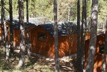 Camping Cabañas de madera